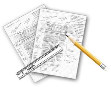 Graphic Designing - Sketch