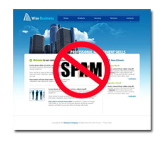 SEO-On Page Web spam
