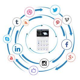 Web Designing-Social Media